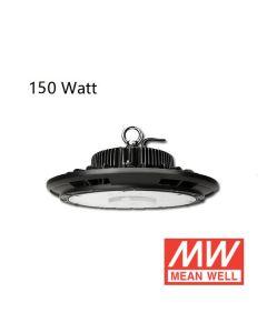 Lumière Élevée de baie d'ufo anti-éblouissement 150W avec driver Meanwell 125L/W IP65