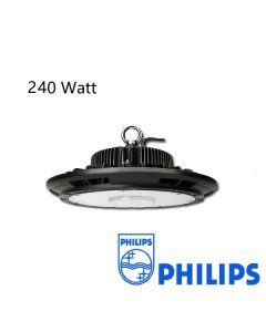 Lumière Élevée de baie d'ufo anti-éblouissement 240W Dimmable avec driver Philips 125L/W IP65