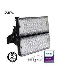 Projecteur Exterieur Sportif LED 240Watt puce Bridgelux 240L/W 40º