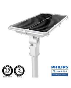 Eclairage public solaire 75Watt avec détecteur de mouvement K5000