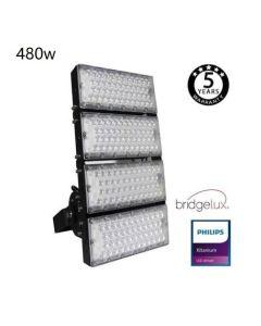 Projecteur Exterieur Sportif LED 480Watt puce Bridgelux 240L/W-40º