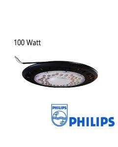 Lumière Élevée de baie d'ufo anti-éblouissement 100W Philips SMD 100L/W IP65
