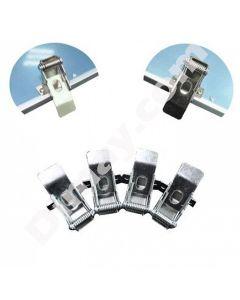 Pinces de fixation de panneau LED adaptées à l'installation