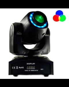 Lampe Disco Rotative Mobile white 7 couleurs réagit au son et au système DMX