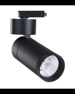 Spot LED 30W LIMA pour rail Monophasique