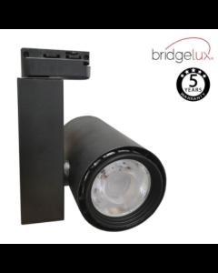 Spot LED 40W BERLIN Noir rail Monophasique CRI +90 UGR17