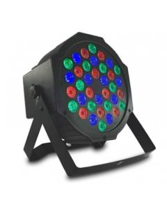 Spot RGB Disco Led 36 Watt avec télécommande et DMX contrôlable