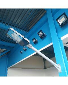 Support mural pour lampadaire de 100 cm de long et 65 mm de diamètre