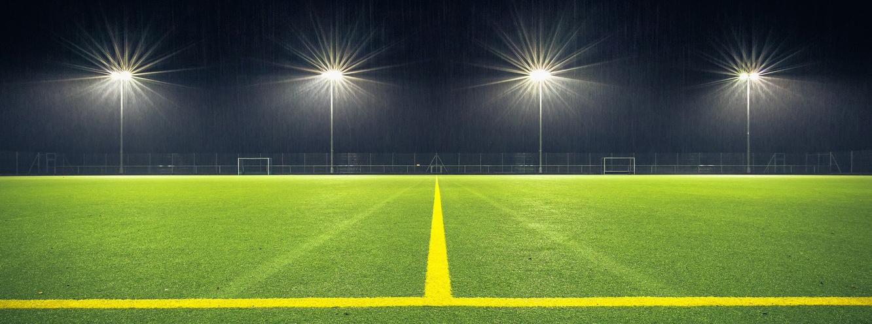 éclairage led pour les stades